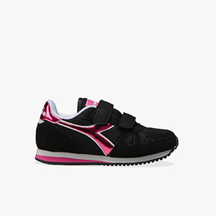 SIMPLE RUN PS GIRL, BLACK, medium
