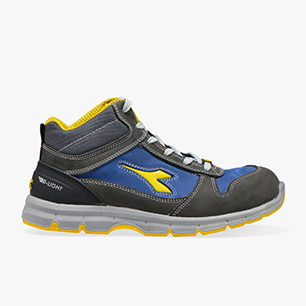 RUN II HI S3 SRC ESD, CASTLE ROCK/INSIGNIA BLUE, medium