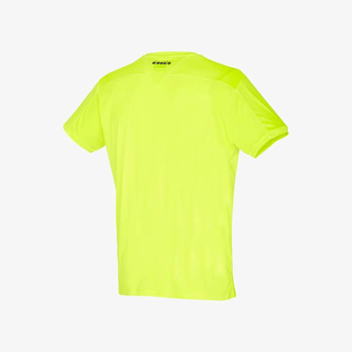T-SHIRT TEAM, FLUO YELLOW DD, large