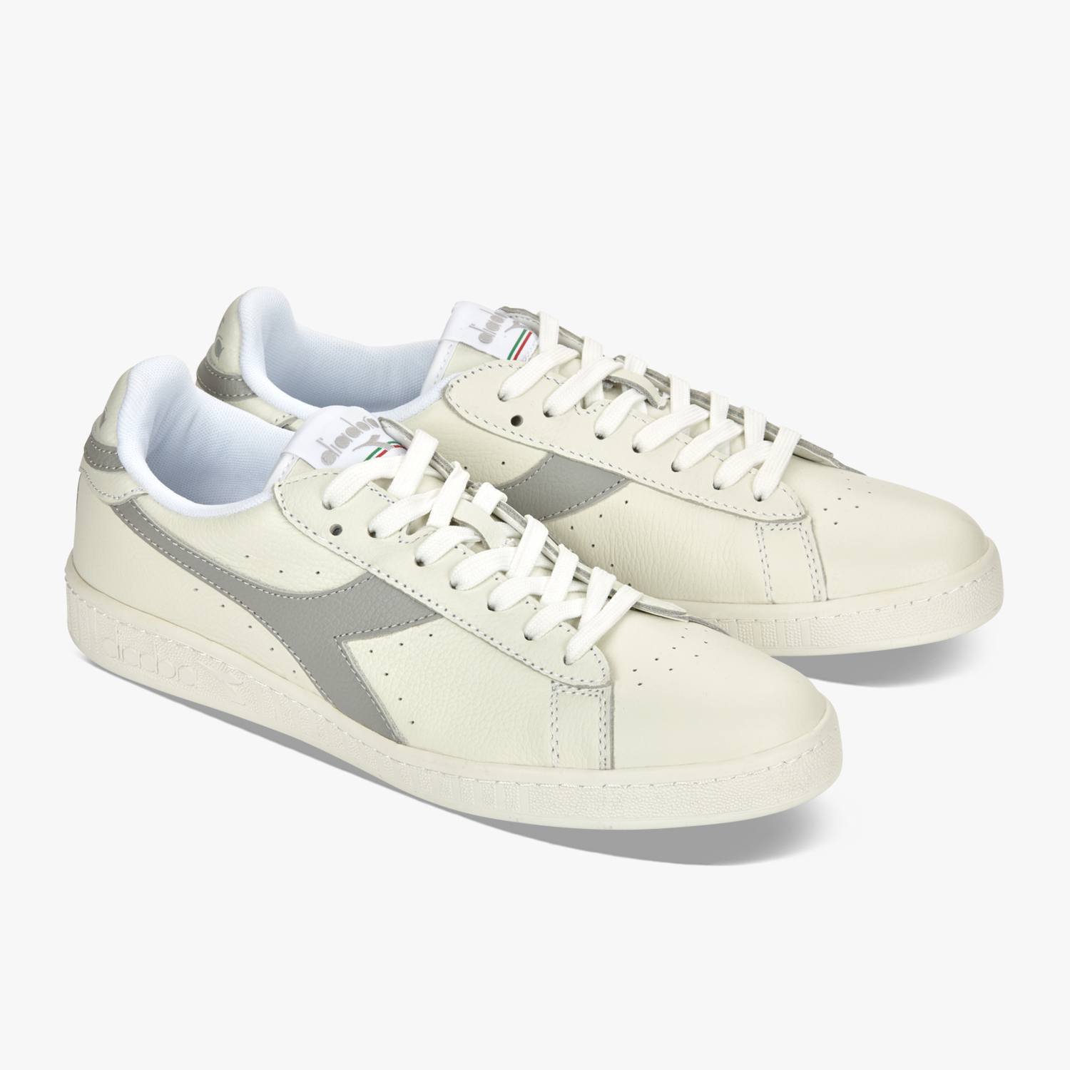 Scarpe diadora game l low mid waxed uomo donna bourdeaux
