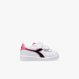 GAME P TD, WHITE/BLACK IRIS/PINK PASSION, medium
