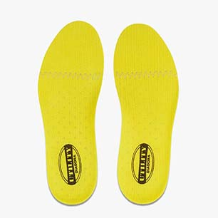 INSOLE ACTIVE II, STRAW/BLACK, medium