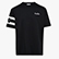 T-SHIRT SS HOOPS, NEGRO, swatch