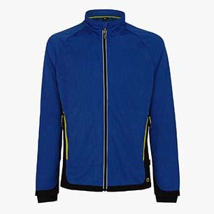 SWEAT FZ TRAIL ISO 13688:2013, MICRO BLEU, medium