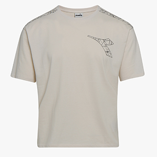 L. SS T-SHIRT FREGIO, HOUSE BEIGE, medium
