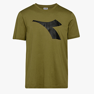 SS T-SHIRT LOGO, GREEN SEQUOIA, medium