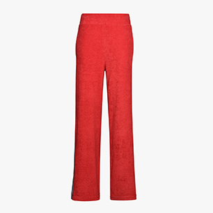 L. TRACK PANT TROFEO, POPPY RED, medium