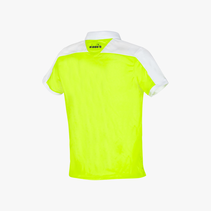 J. POLO COURT, FLUO YELLOW DD, large