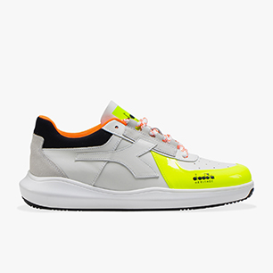 MI BASKET H LOW MDS FLUO, FLUORESCENT YELLOW, medium