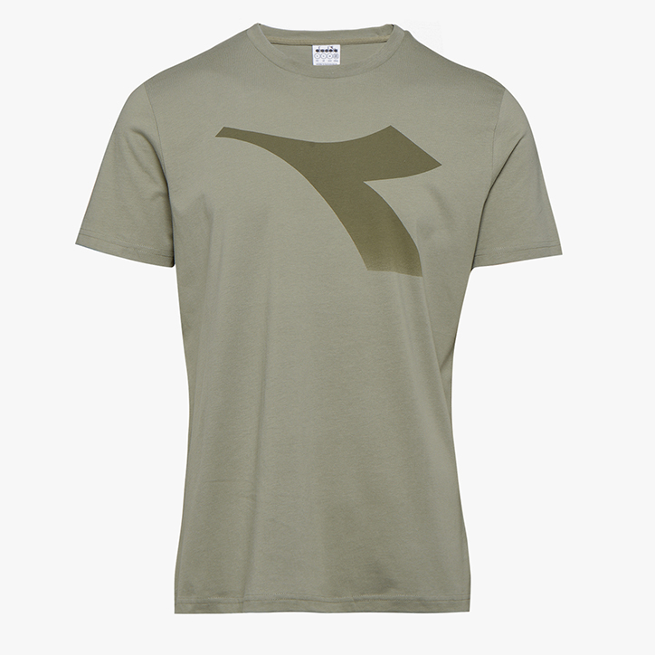 SS T-SHIRT FREGIO, VETIVER, large