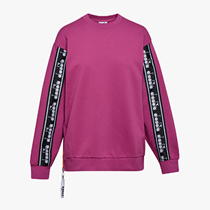 L. SWEATSHIRT CREW TROFEO, VIOLET BOYSENBERRY, medium