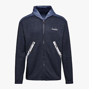 HD ZIP SWEAT BE ONE, BLEU FONCÉ, medium