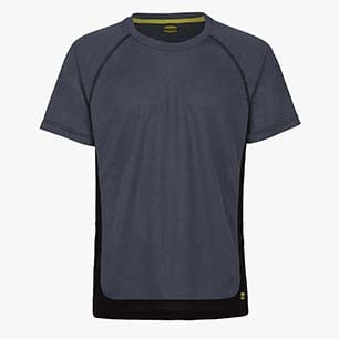 T-SHIRT TRAIL SS ISO 13688:2013, GRIS MÉTAL, medium