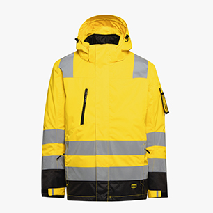 HV JACKET ISO 20471, NEONGELB, medium