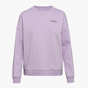 L. SWEATSHIRT CREW CHROMIA, VIOLET ORCHID, medium