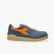 D-JUMP LOW S3 SRC ESD, FADED DENIM/FLAME ORANGE, swatch