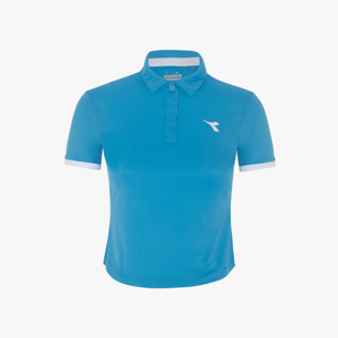 G. POLO COURT, NEON BLUE, medium