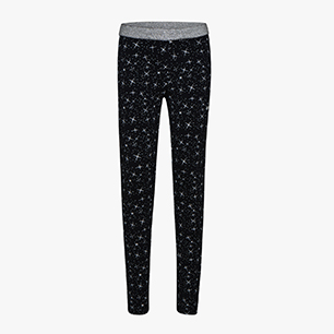 G.STC LEGGINGS 5 PALLE, NEGRO, medium