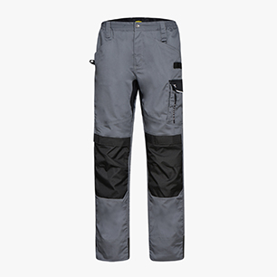 PANT. EASYWORK LIGHT ISO 13688:2013, STEEL GREY, medium