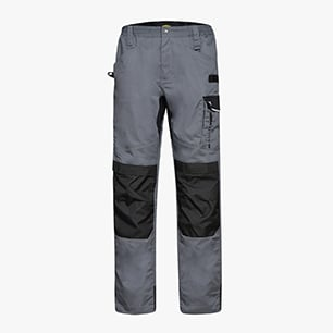 PANT. EASYWORK LIGHT ISO 13688:2013, STAHLGRAU, medium
