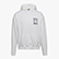 PAURA LOGO HOODIE, OPTICAL WHITE, swatch