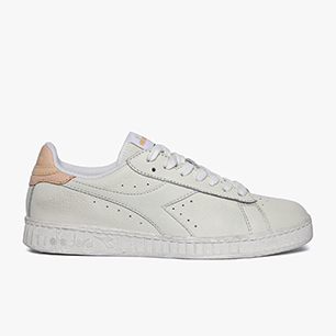 GAME L LOW WAXED, WHITE/PALE PEACH, medium