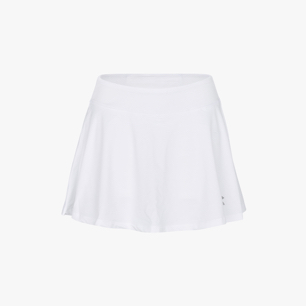 L. SKIRT COURT, OPTICAL WHITE, medium