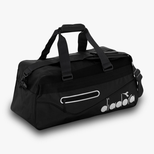 BAG TENNIS, SCHWARZ, medium