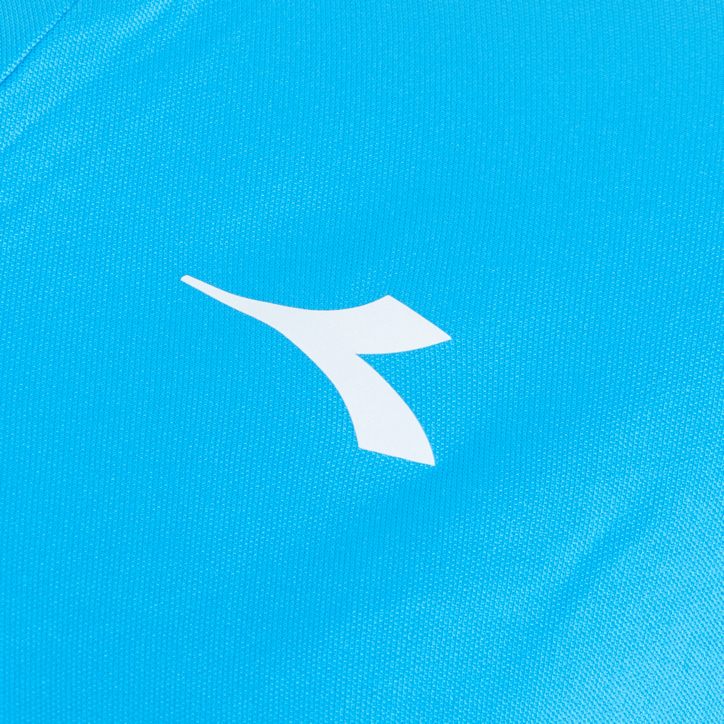 G. T-SHIRT TEAM, NEONBLAU, large