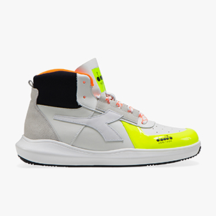 MI BASKET H MDS FLUO, FLUORESCENT YELLOW, medium