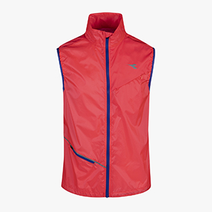 VEST, FLUO LAVA, medium