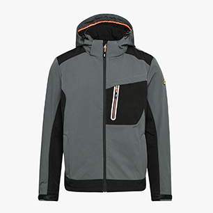 SOFTSHELL TECH CARBON ISO 13688:2013, EFEU, medium
