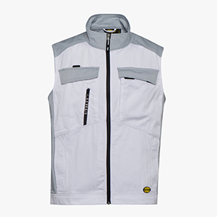 VEST EASYWORK LIGHT, OPTICAL WHITE, medium