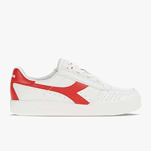 B. ELITE, WHITE/FERRARI RED ITALY, medium