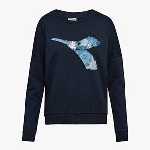 L.CREWNECK SWEAT FREGIO, BLUE CORSAIR, medium