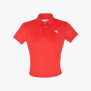 G. POLO COURT, RED, medium