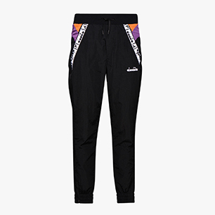 L. PANTS, BLK/HYACINTH VLT/AUTUMN GLORY, medium