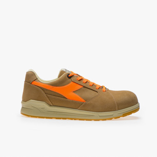 D-JUMP LOW S3 SRC ESD, BEIGE/ORANGE, medium