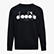 SWEATSHIRT CREW 5PALLE OFFSIDE, BLACK/SUPERWHITE, swatch