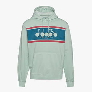 L. HOODIE SPECTRA USED, FAIR AQUA, medium