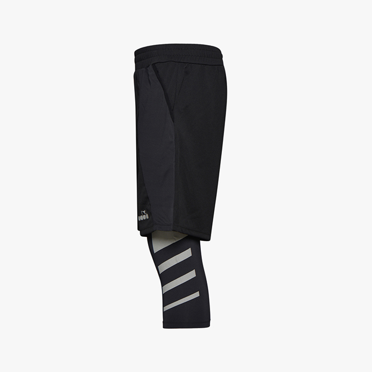 POWER SHORTS BE ONE, BLACK, large