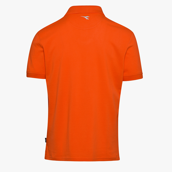 POLO MC ATLAR II, VERMILLION ORANGE, large