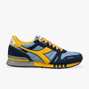 TITAN, SKY-BLUE GREY/SPECTRA YELLOW, medium