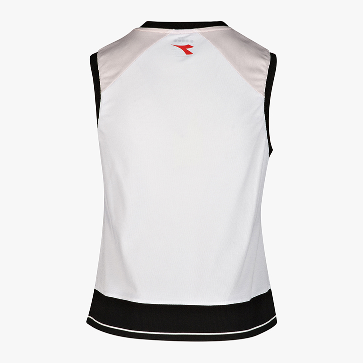 Mujer Diadora Spa L Tank Clay Camiseta//Top de Tenis