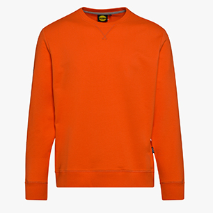 SWEATSHIRT FALCON II, VERMILLION ORANGE, medium