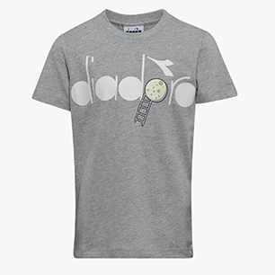 J.SS T-SHIRT 5 PALLE, LIGHT MIDDLE GREY MELANGE , medium