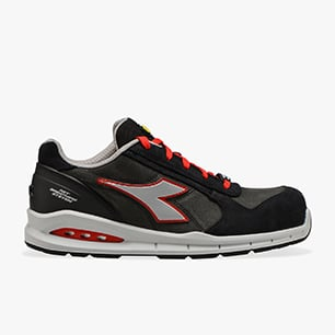 RUN NET AIRBOX LOW S3 SRC, ASPHALT/SILVER/RED, medium