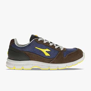 RUN LOW S3 SRC, DARK BROWN/DARK NAVY, medium