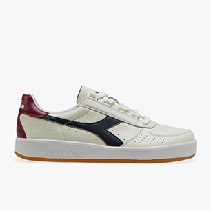 B.ELITE L, WHT/BL GRAPHITE/CORDOVAN, medium