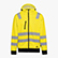 HOODIE ZIP HV ISO 20471, FLUORESCENT YELLOW, swatch